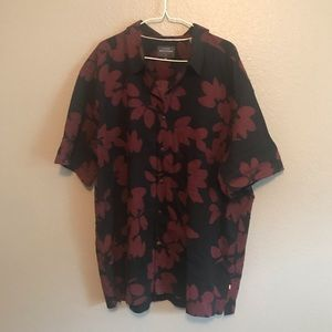 Quicksilver Waterman Collection Floral Shirt